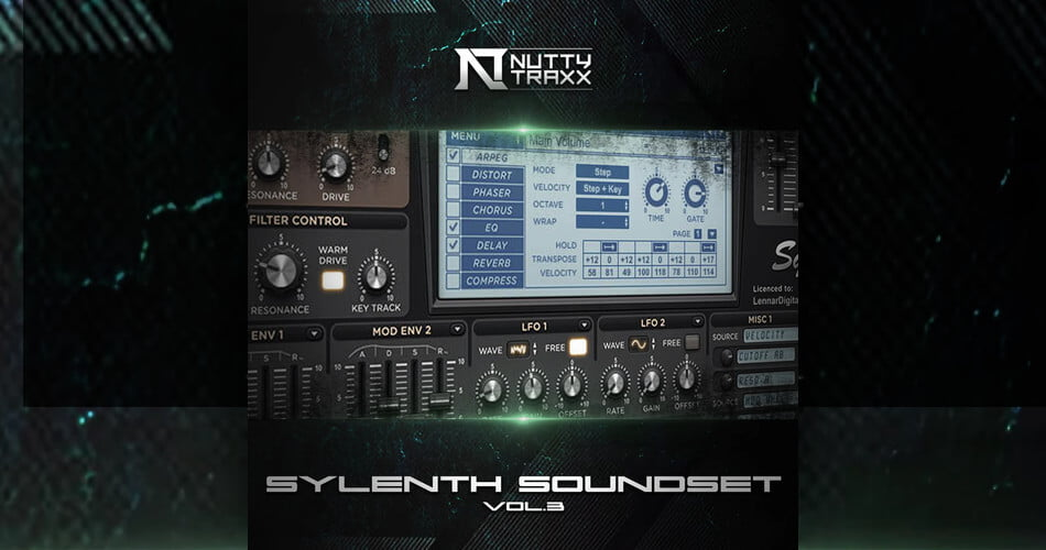Nutty Traxx Sylenth Soundset Vol 3