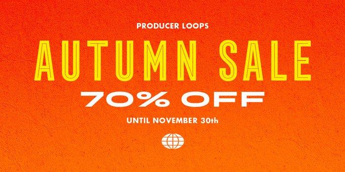 Producer Loops Autumn Sale