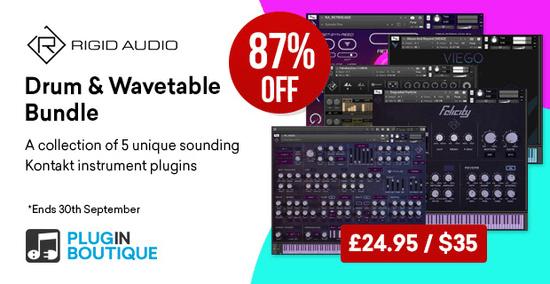 Rigid Audio Drum Wavetable Bundle