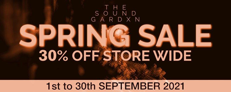 The Sound Gardxn Spring Sale