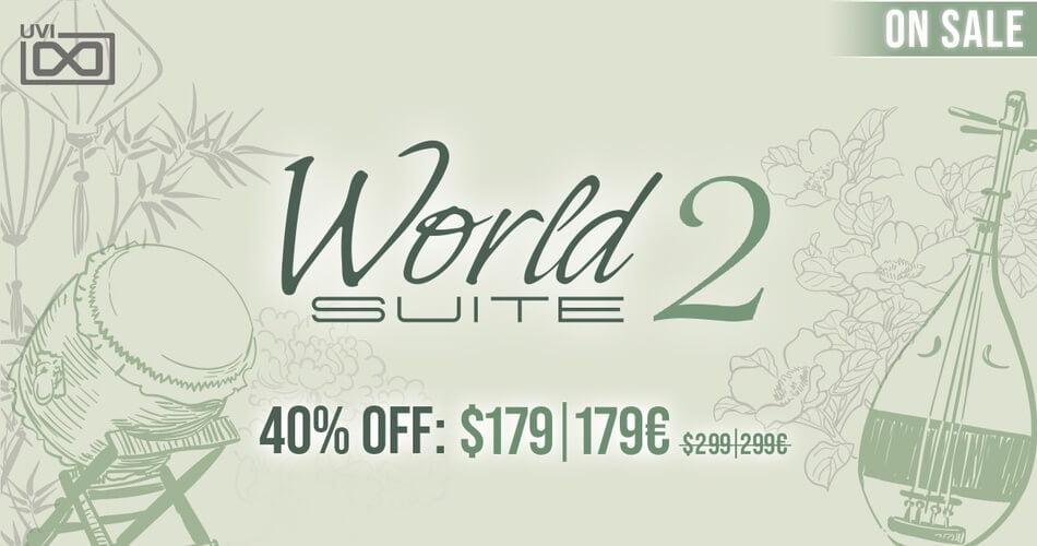 UVI World Suite 2 Sale