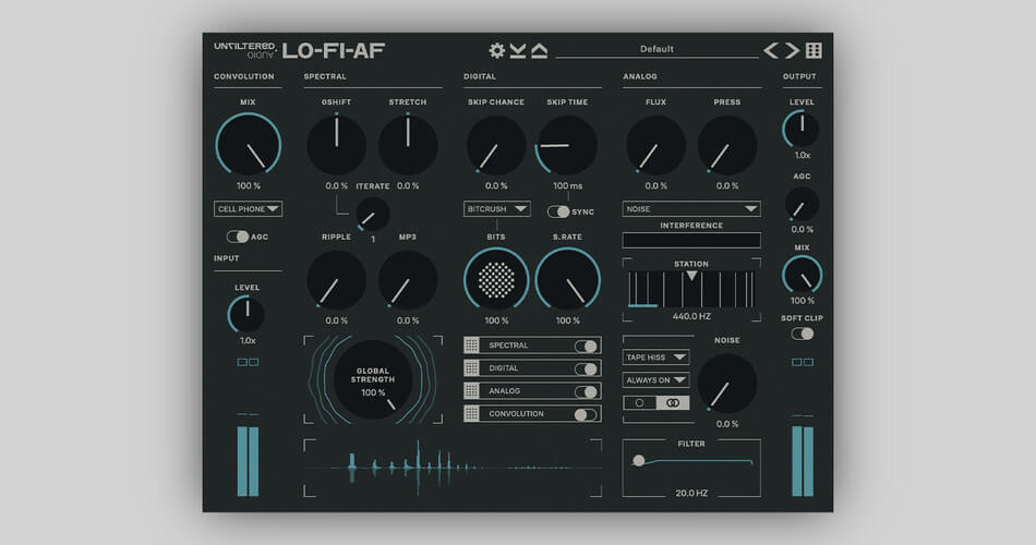 Unfiltered Audio LO FI AF