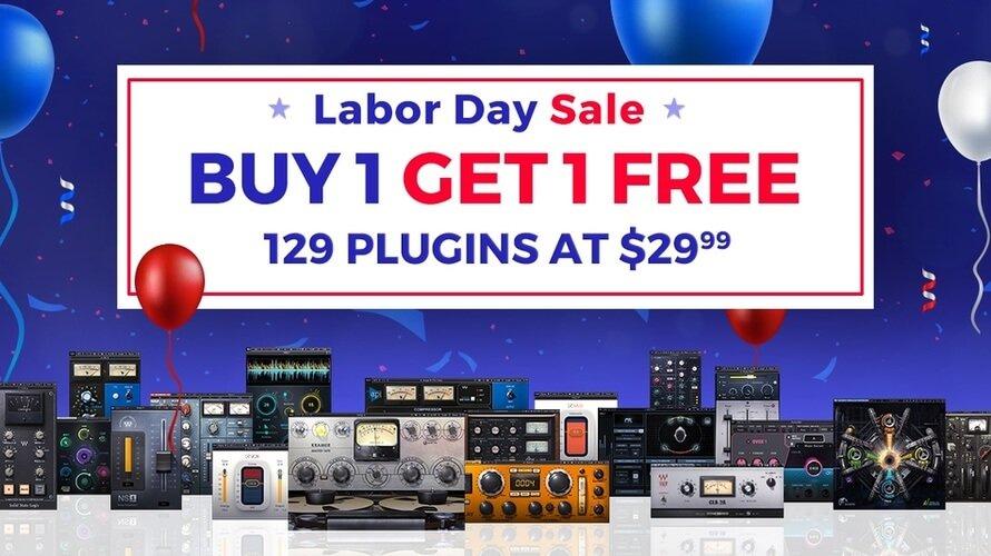 Waves Audio Labor Day Sale