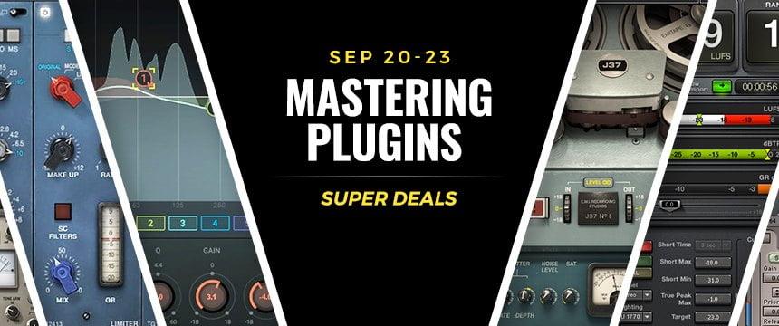 Waves Mastering plugins sale
