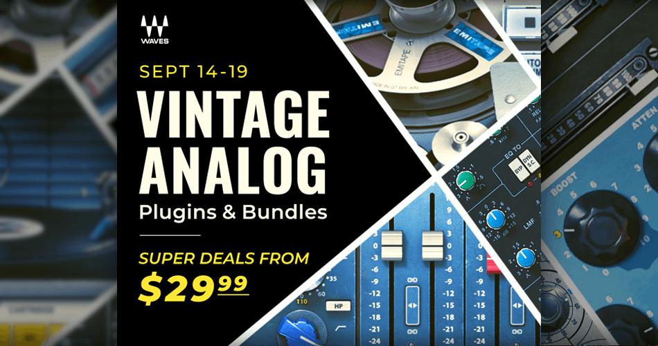 Waves Vintage Analog Plugins and Bundles