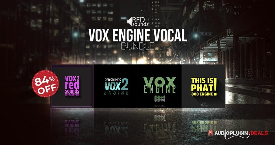 APD Red Sounds Vox Engine Vocal Bundle