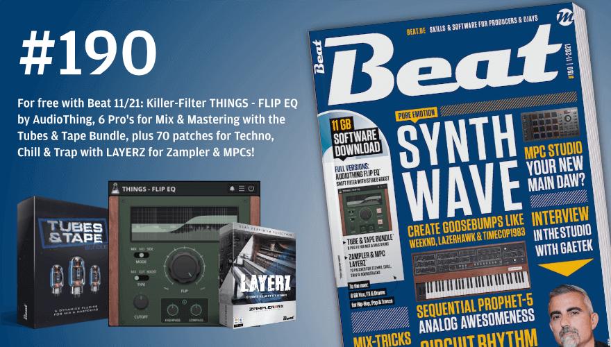 Beat 190 magazine AudioThing Flip EQ