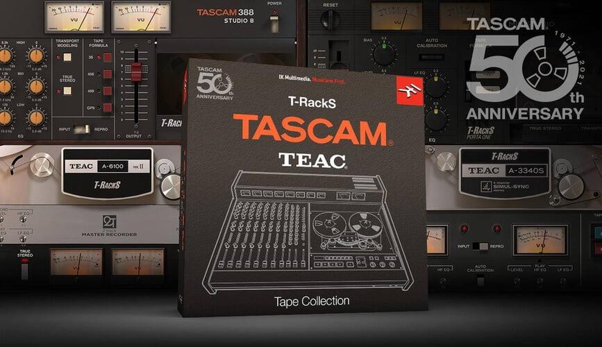 IK Multimedia T RackS TASCAM Tape Collection
