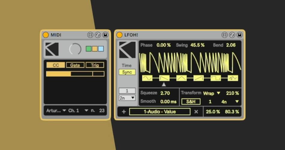 K Devices Modulators 21 MIDI