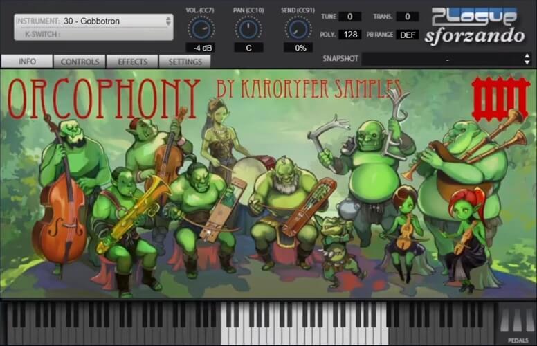 Karoryfer Samples Orcophony