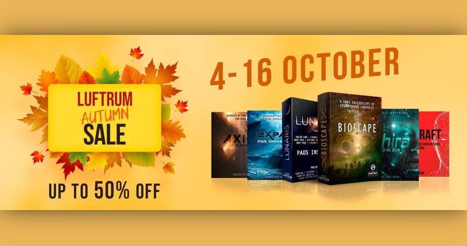 Luftrum Autumn Sale 2021