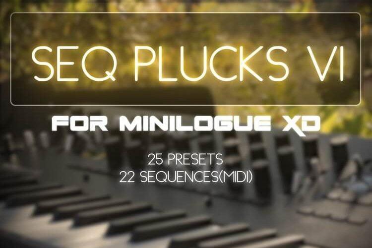 NatLife Sounds Seq Plucks for minilogue XD