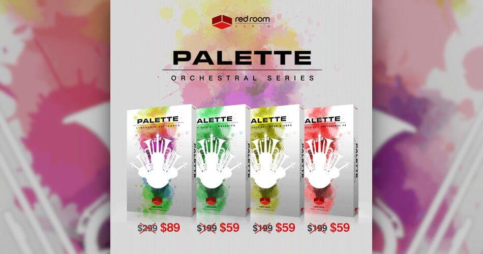 Red Room Audio Palette Series Sale