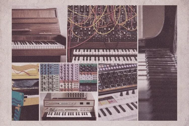 Sample Magic Bedroom Pianos and Electronics