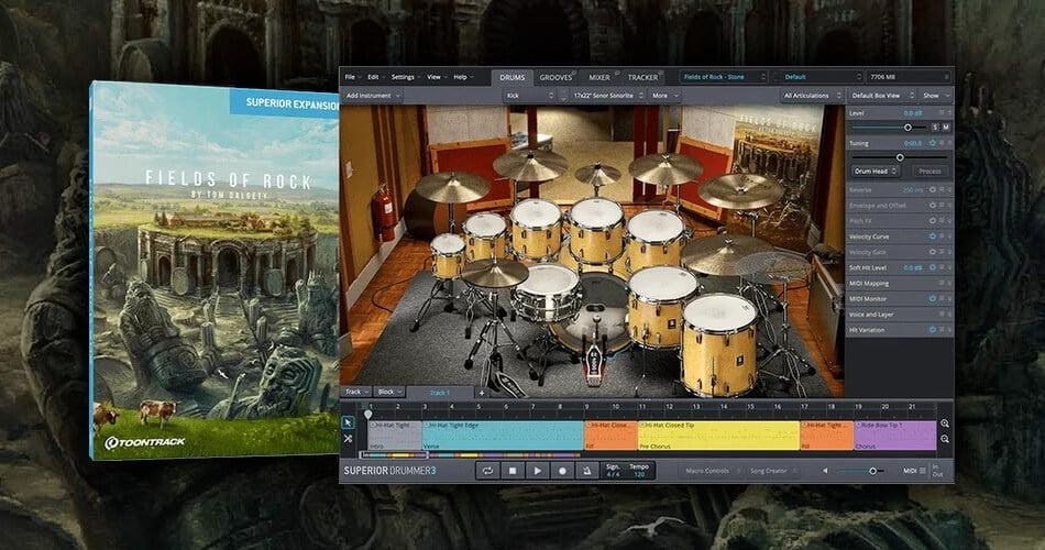 Toontrack Fileds of Rock SDX
