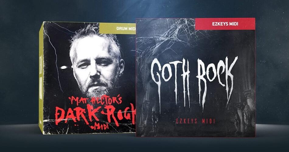 Toontrack Goth Rock Dark Rock MIDI packs