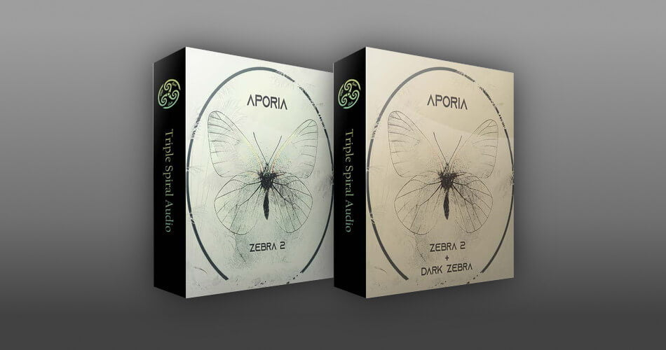 Triple Spiral Audio Aporia for Zebra 2