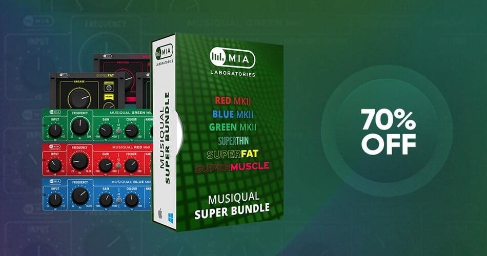 VST Buzz MIA Musiqual Super Bundle