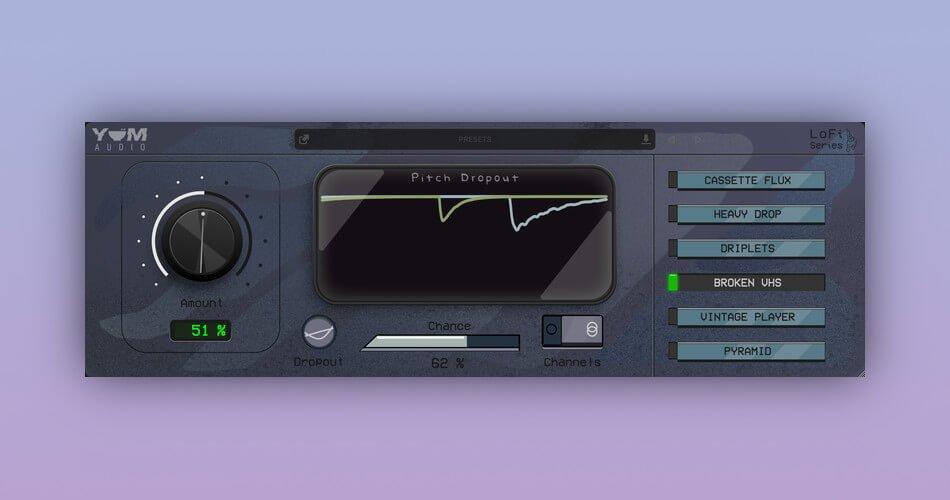 Yum Audio Lofi Pitch Dropout